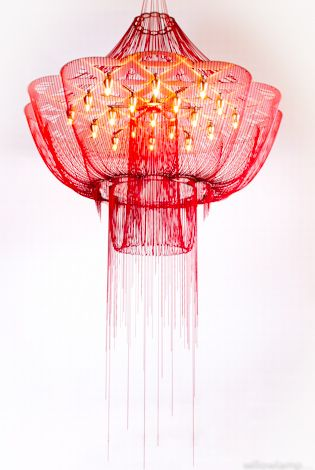 Willowlamp - Flower of Life Chandeliers