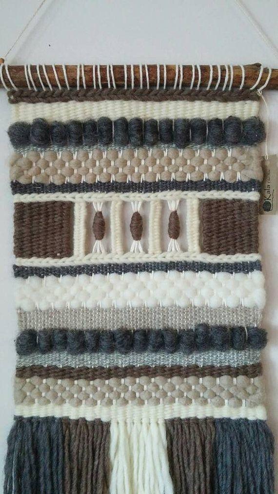 Tissé à la main Tenture murale/tissage/tapisserie/tissage/fait