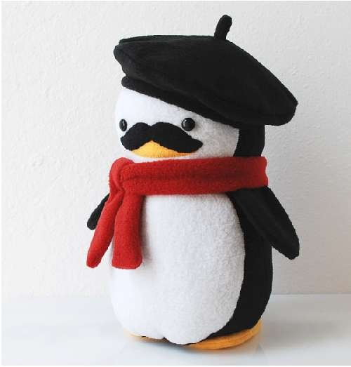 My Dear Darling Penguins- If you have $150 to spare on a plushie... Why not a French Penguin?