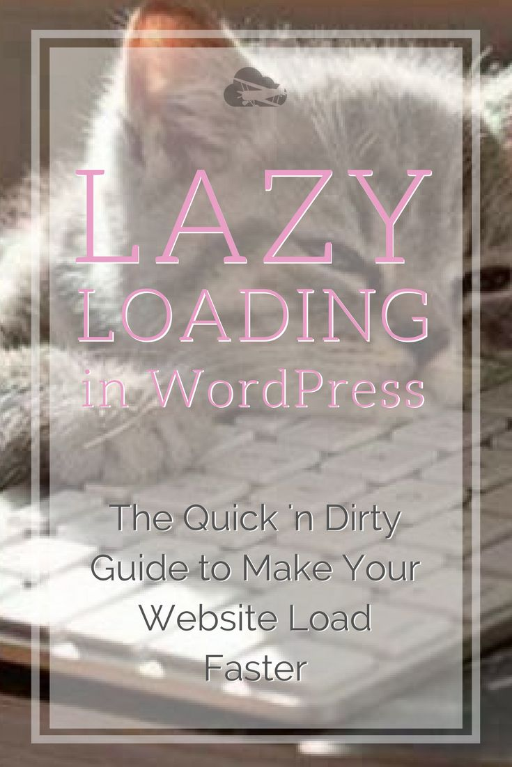 Making sure your website loads fast is essential. Learning how to lazy load WordPress can enable you to do it in only a matter of minutes. #seo