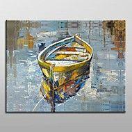 tangan dicat moden lukisan minyak abstrak dengan ... – USD $ 62.99
