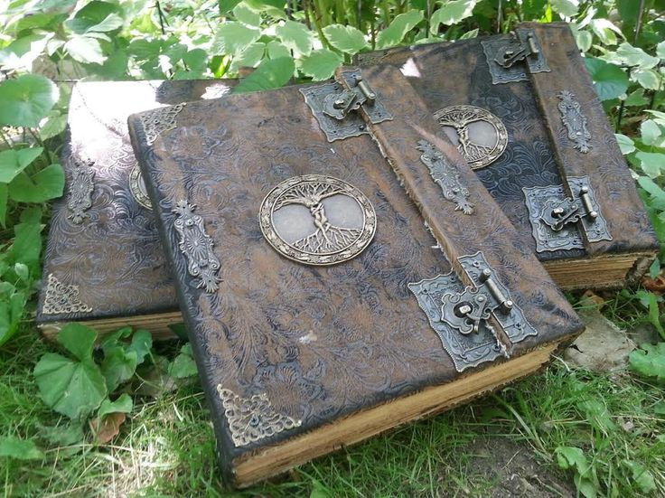 3 Book of Shadows for THE NEW WITCH with spells Wicca Pagan Spells Book of Shadows grimoire Witch book of shadows Journal  old by CountryPinecones on Etsy