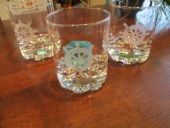 Ruorikuvalla varustetut viski lasit | LA kädenjälki