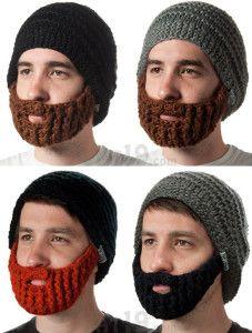 Gorros con barbas