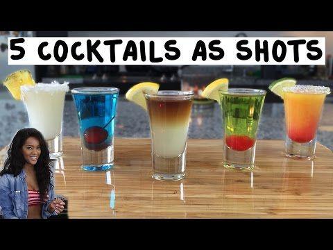 Tequila Sunrise Shot - TipsyBartender.com