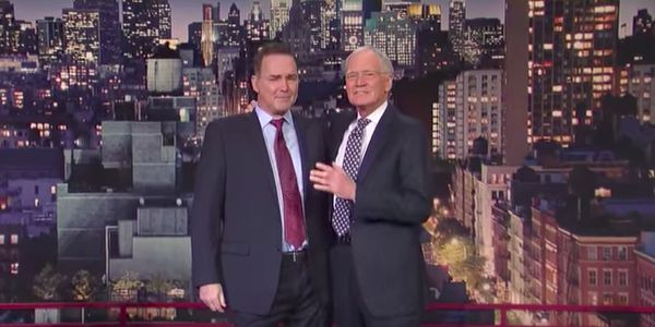 Watch David Letterman Get Interviewed By Norm Macdonald For A Change #FansnStars