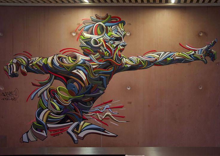 Shock Waves: Powerful Urban Paintings by Shaka | Inspiration Grid | Design Inspiration