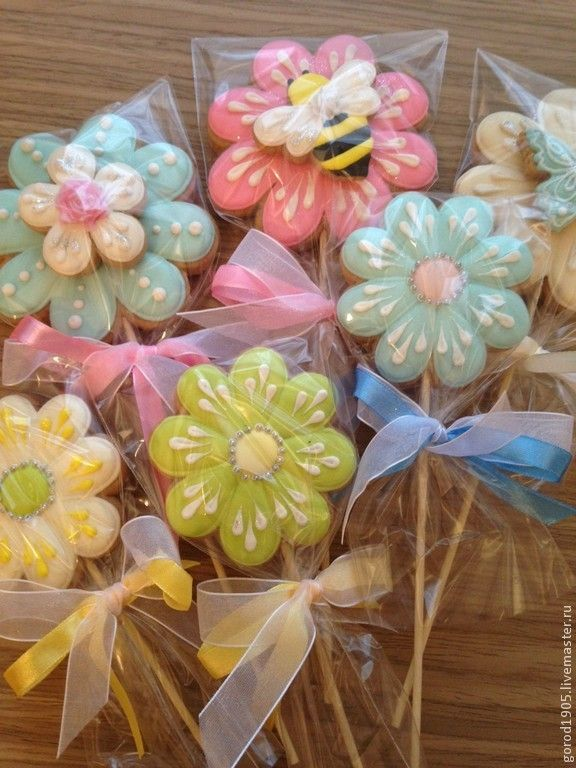 175 Best Images About Flowers Daisy Cookies Pops Goodies
