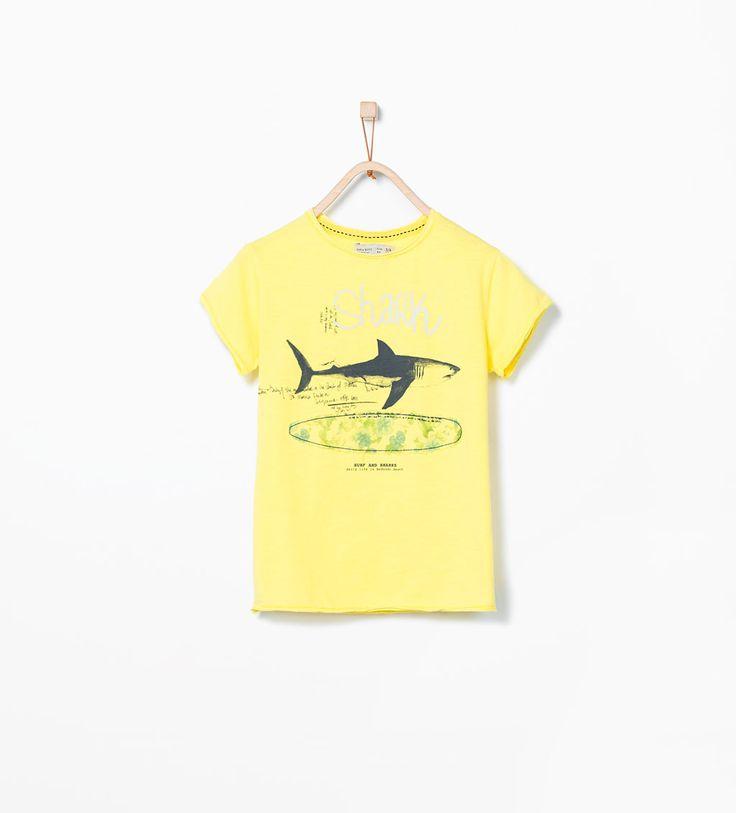 Image 1 of Shark T-shirt from Zara