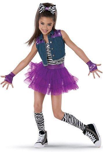 Weissman Holla at The DJ Girl's Dance Costume Hip Hop Halloween Size LC | eBay