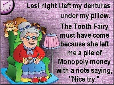 Tooth Fairy Joke Meme