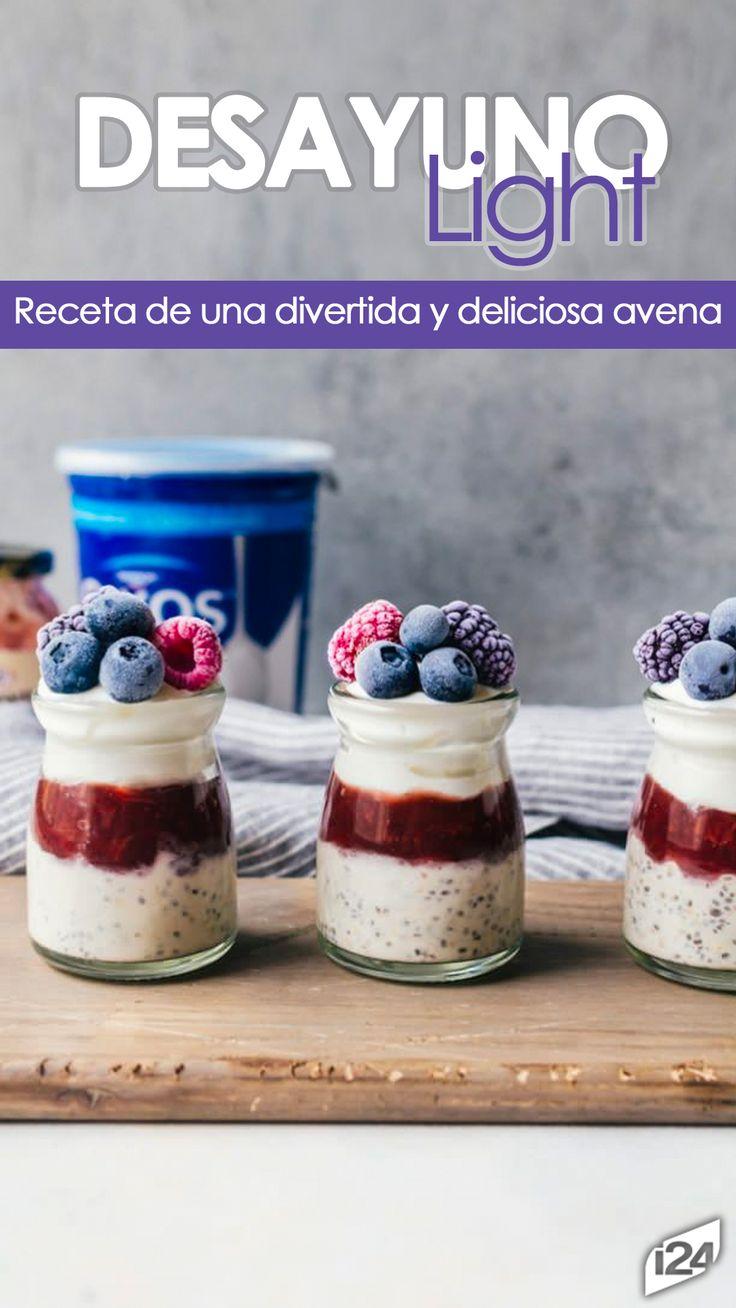 Una receta muy sencilla #Light #Receta #Avena #Desayuno