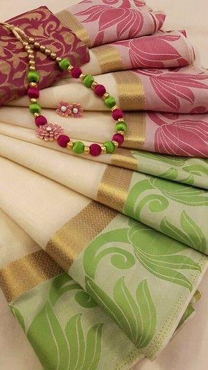 Butter Silk saree