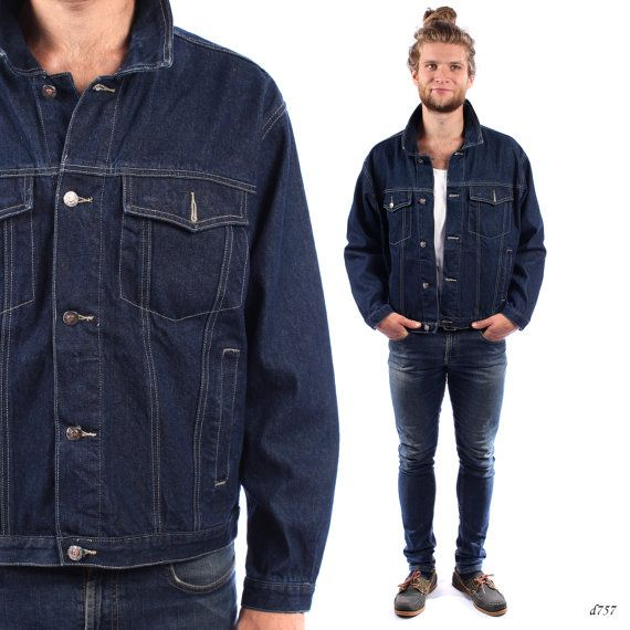 Mens Denim Jean Jacket - Coat Nj