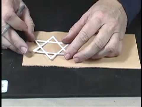 How to do leather tooling, embossing