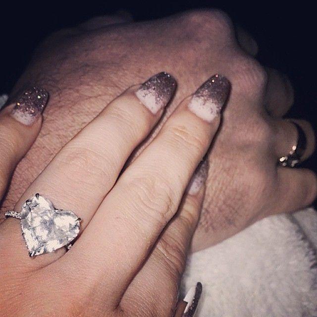 Lady Gaga's engagement ring <3