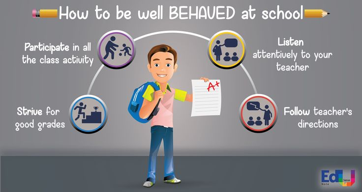 How to be well BEHAVED at school #EdusenseNote