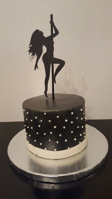 Pole Dancer/Stripper Cake