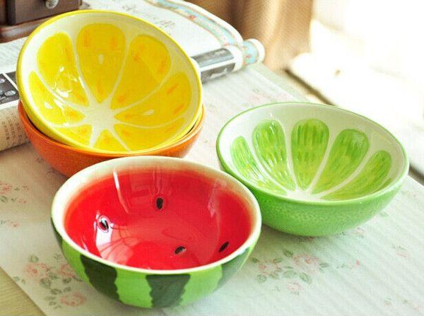 platos pintados ceramicos limones y uvas - Buscar con Google