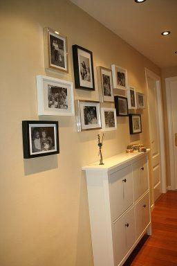 M s de 25 ideas incre bles sobre pasillos estrechos en - Muebles zapateros estrechos ...