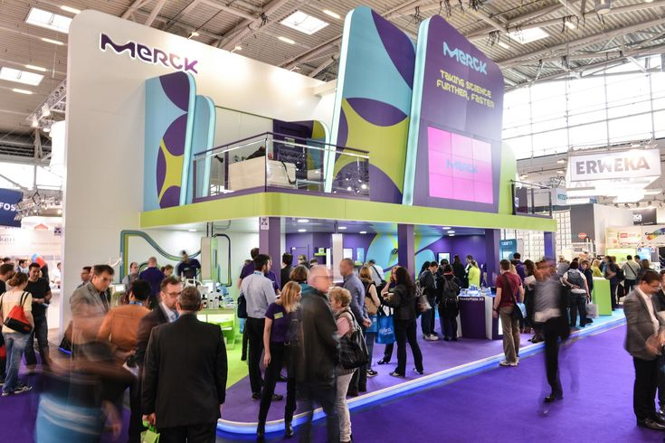 MERCK Analytica Munich 2016 PRO EXPO Exhibition Stand design building. We Provided Efficient, sustainable, creative and powerful impact.