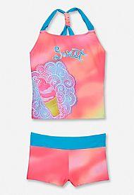 ice cream tankini swimsuit