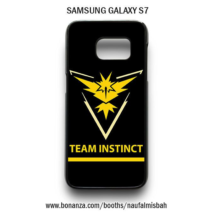 Team Instinct Pokemon Go Samsung Galaxy S7 Case
