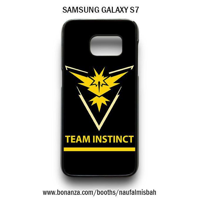 Team Instinct Pokemon Go Samsung Galaxy S7 Case