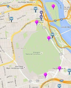 25 melhores ideias de Map of dc area no Pinterest  mapa