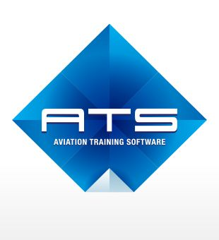'Aviation Training Software' logo design
