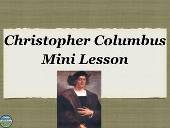 an analysis of the topic of the christopher columbus When christopher columbus arrived on the bahamian island of guanahani (san   columbus by king ferdinand and queen isabella became the subject of.