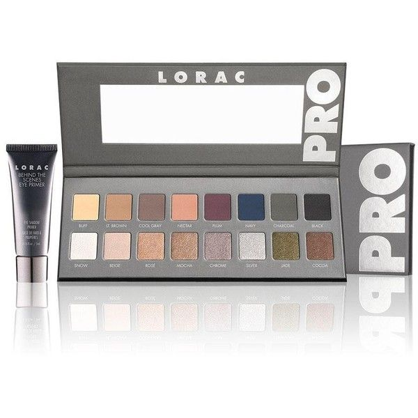 LORAC Pro Palette 2 (300 DKK) ❤ liked on Polyvore featuring beauty products, makeup, eye makeup, eyeshadow, beauty, lorac eye shadow, palette eyeshadow, lorac eyeshadow and lorac