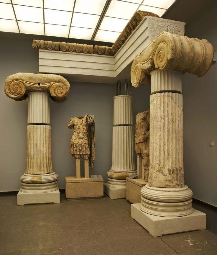 Tempio di Afrodite nel museo archeologico di Salonicco