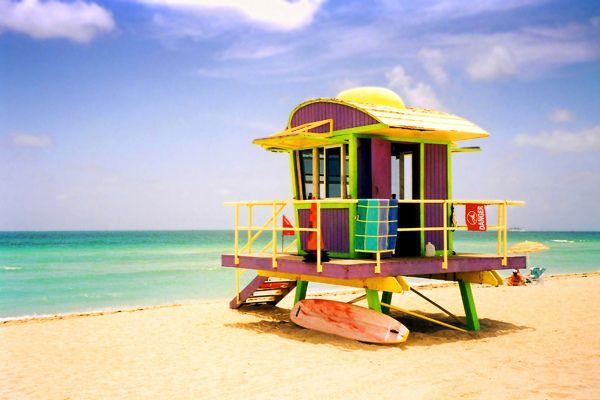 South Beach hut (Miami Beach, Florida)