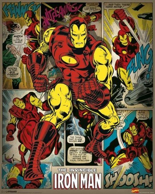 Marvel Comics (Iron Man Retro)                              …