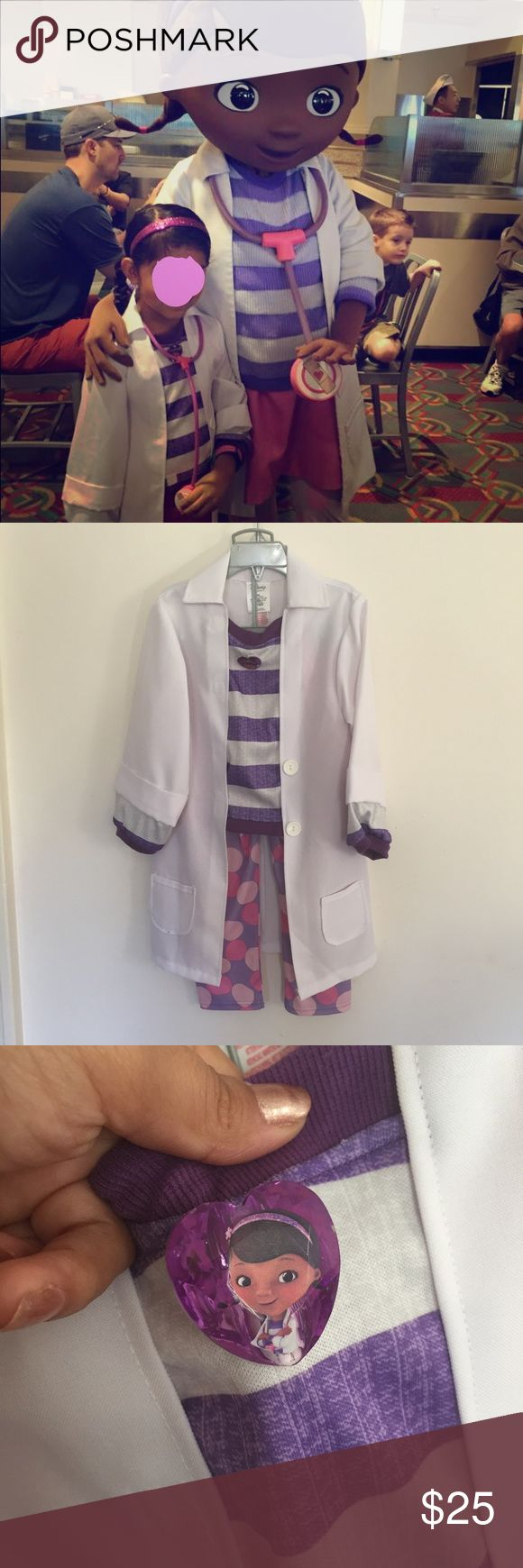 Disney Doc McStuffins costume Like new no damagesfromdisney store accesories not available Disney Costumes