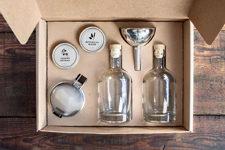 DIY Homemade Gin Kit | Darby Smart | Gift Idea