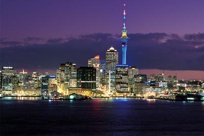Downtown Auckland NZ