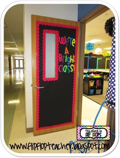 Math Classroom Door Decorations : Best neon classroom theme images on pinterest