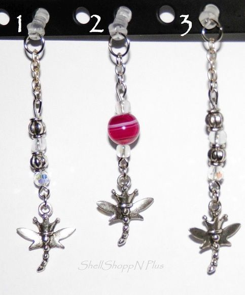 NEW...HANDMADE, CUTE Tibetan Silver DRAGONFLY Cell Phone Dust Plug/Ear Cap/Ear Phone Jack...Dust Plug for cell phones, iPods, wherever there's an earphone jack that's 3.5mm. Not only is it cute, but practical as well. Keeping dust & debris out of the ear phone jack is important, especially if you...