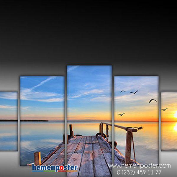 Manzara tabloları ile evinizin havasına hava katın!!! #manzara #tablo #manzaratablo #uygunfiyat #şıklık