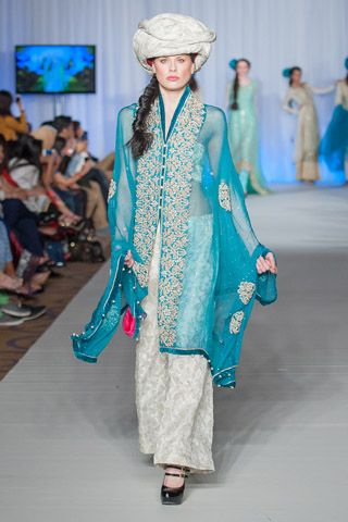 Nauman Arfeen Collection at Pakistan Fashion Week London 2013