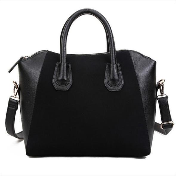 c47ec590dc11 ... Nubuck Leather Womens Handbag Smiley Shoulder Bags Popular Panelled  Women  WESTAL Genuine Leather Duffel Bag - BagPrime - Look Your Best with  Amazing ...