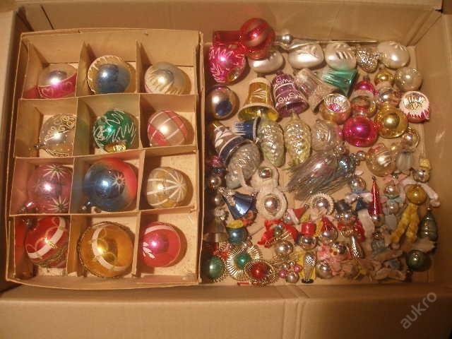 vánoční ozdoby staré
