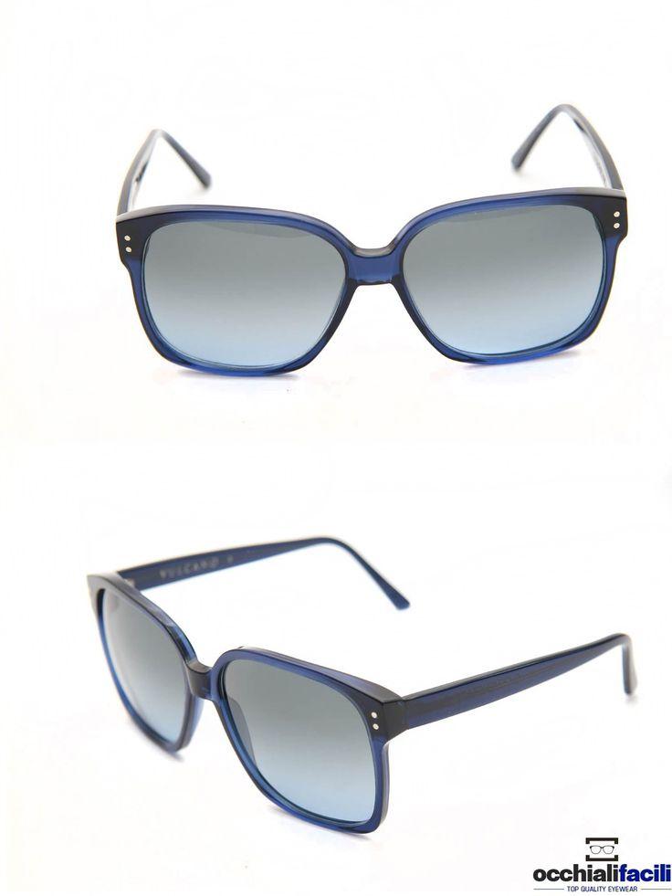 Occhiali da sole G-Sevenstars Vulcano B forma over size in celluloide blu trasparente. http://www.occhialifacili.com/prodotto/occhiali-da-sole-g-sevenstars-vulcano-b/