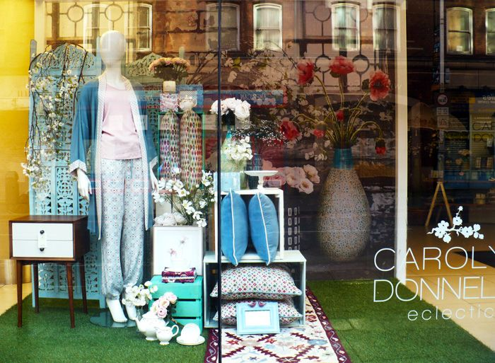 Carolyn Donelly window in Dunnes Stores on George Street, Dublin