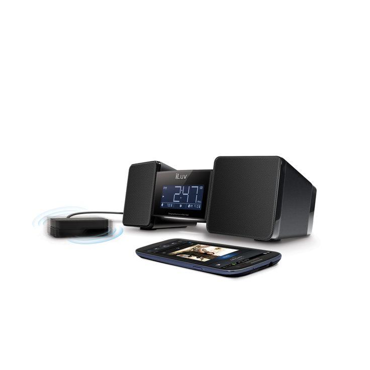 VibroBlue Speaker, Radio, Bluetooth, Alarm Clock