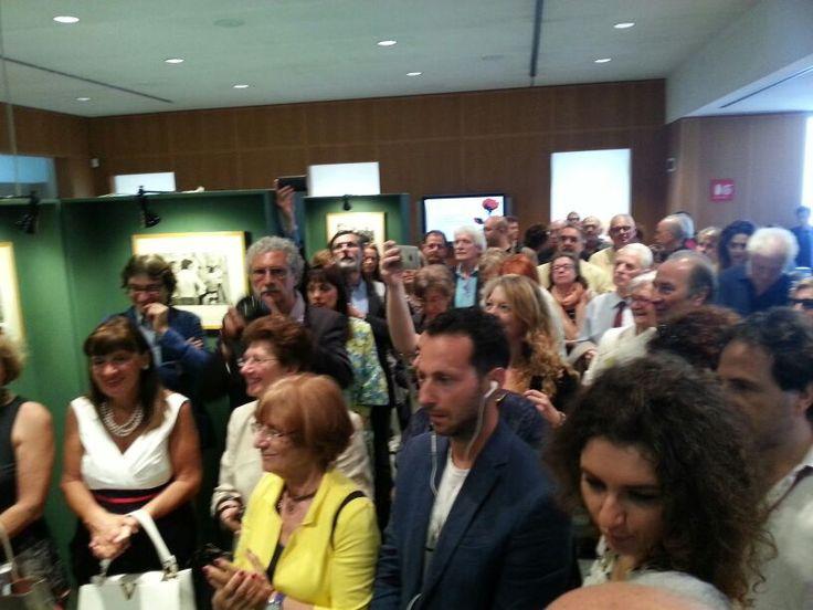 Inaugurazione Mostra di Cartier Bresson sulla Basilicata alla Milanesiana