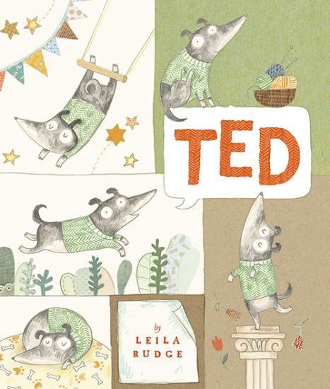 Ted | The Little Big Book Club | Ted is a heartfelt tale about small dog, which is looking for love and a place to belong. His quest to find a home takes him to all sorts of places and he eventually finds love and a place to call home in the most unlikely place of all!