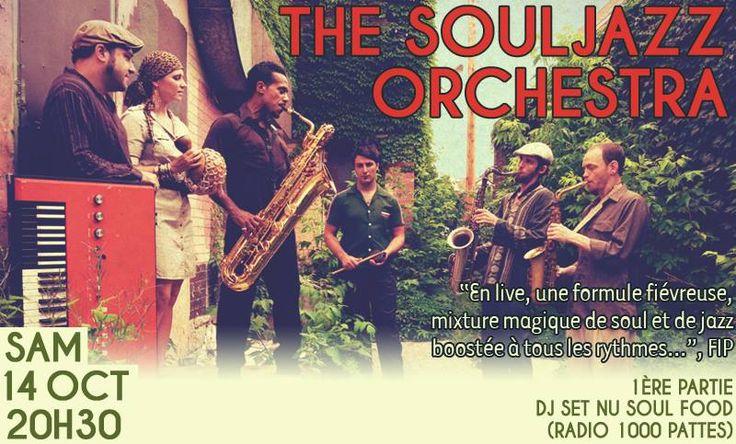 Gagnez votre place : Souljazz Orchestra au Rack'am